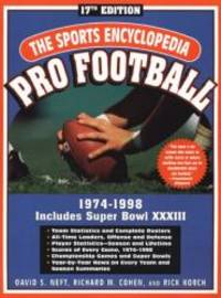 image of The Sports Encyclopedia: Pro Football 1999: 17th Edition