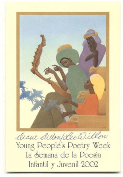 The Children's Book Council, Inc. Promotional postcard. Ephemera. SIGNED. 15 cm x 10 cm. Fine condit...