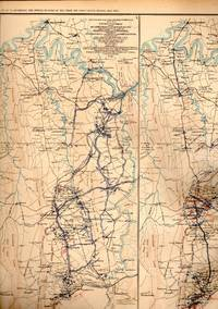 MAP: 5 Section Map, Including Upper Potomac from McCoy's Ferry to Conrad's Ferry, Cedar...