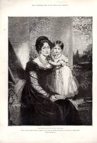 ENGRAVING: 'Many Happy Returns of the Day'.... engraving from The Illustrated News of the...