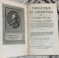 Théâtre de l'Hermitage de Catherine II. Paris, an 7. Exemplaire tel que paru de l'édition originale.