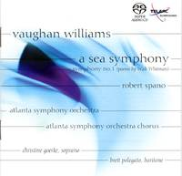 A Sea Symphony - Symphony No.1 (poems of Walt Whitman) - for Chorus, Soloists, and Orchestra [CD - SACD Music Compact Disc]
