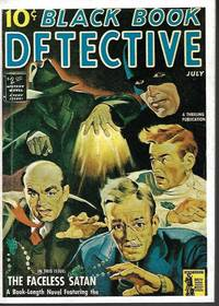 THE FACELESS SATAN: From BLACK BOOK DETECTIVE Magazine: July 1942