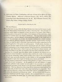 DANIELL CELL: Fifth Letter on Voltaic Combinations, with Some Account of the Effects of a Large...
