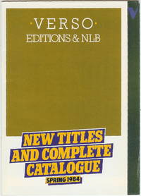 Verson Editions & NLB : New Titles and Complete Catalogue : Spring 1984
