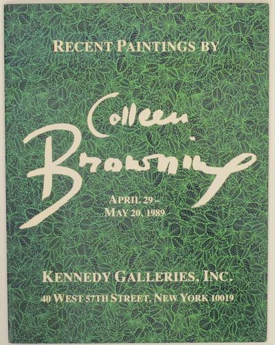 New York: Kennedy Galleries, Inc, 1989. First edition. Softcover. Exhibition catalog for a show that...
