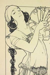 """""""Salomé"""" - Rare original lithograph by Alphonse Mucha for L'Estampe Moderne on China paper"""