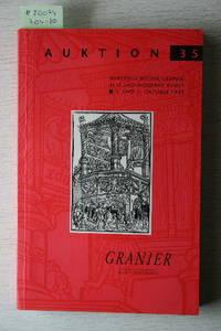 Auktion 35, 1. Und 2.Oktober 1993: Wertvolle Bücher, Graphik, Alte Und  Moderne Kunst.