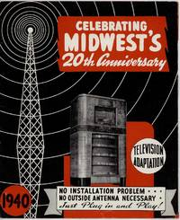 Celebrating Midwest's 20th Anniversary.  Television Adaptation.  No Installation Problem...No Outside Antenna Necessary.  Just Plug in and Play!  1940.