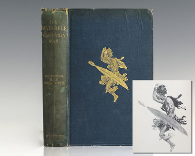 London: Methuen & Co., 1901. Fourth edition of Baden-Powell's authoritative work on the Matabeleland...