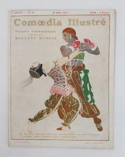 Paris: M. de Brunoff, 1914. First Edition. Quarto; Magazine binding; G/no jacket; Text in French; So...