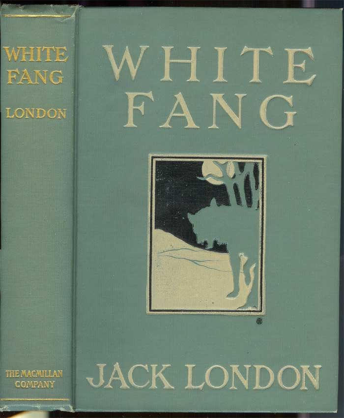 White Fang Book Cover : White fang by london jack