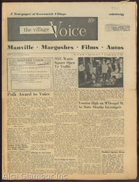 image of THE VILLAGE VOICE; A Newspaper of Greenwich Village