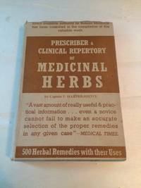 image of Prescriber and Clinical Repertory of Medicinal Herbs