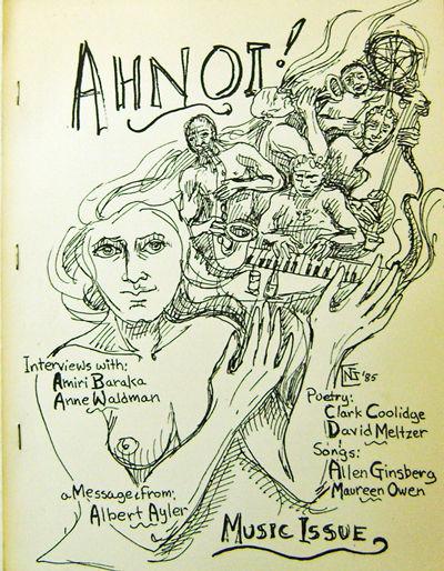 New York: Gaede's Pond Press, 1985. First edition. Paperback. Near Fine. 4to. Scarce poetry magazine...