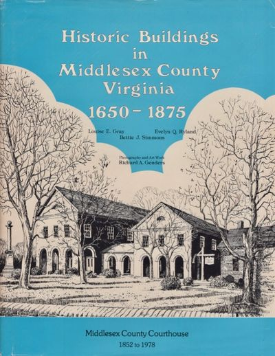 Charlotte, North Carolina: Middlesex County Bicentennial Book Committee. Printed by Delmar Printing ...