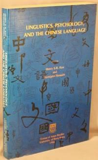 image of Linguistics, Psychology, and the Chinese Language.