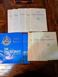 THE THEOSOPHIST magazine 1975 lot of 11 issues