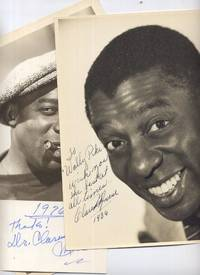 Signed Rare Clarence Muse Photo and Card