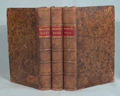1730. CONGREVE, WILLIAM. THE WORKS OF MR. WILLIAM CONGREVE: IN THREE VOLUMES, Consisting of his Play...