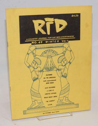 Bakersville, NC: Running Water, 1986. Magazine. 84p., 8.5x11 inches, illustrations, photos, very goo...