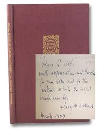 The 75th Anniversary of the Founding of the Dental School of Harvard University: A Record of the Celebration Held at The Harvard Club of Boston, April 16, 1943 [Inscribed by School's Dean, Leroy Mathew Simpson Miner]