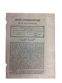 Diario Constitucional del dia 22 de Julio de 1820