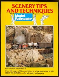image of SCENERY TIPS AND TECHNIQUES FROM MODEL RAILROADER MAGAZINE.  MODEL RAILROAD HANDBOOK NO. 26.