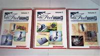 Bernina Feetures: A Guide to Presser Feet, Accessories, and Attachments, Vol. 1-3 (3 Volumes)