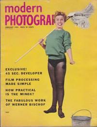 image of Vintage Magazine Modern Photography Vol. 19 No. 2 February 1955