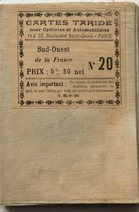 image of Carte Routiere pour Automobilistes & Cyclistes - Sud-Ouest de la France, Bordeaux - Toulouse, No. 20