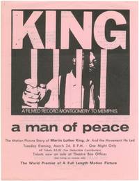 image of [Flyer]: King: A Filmed Record. Montgomery to Memphis