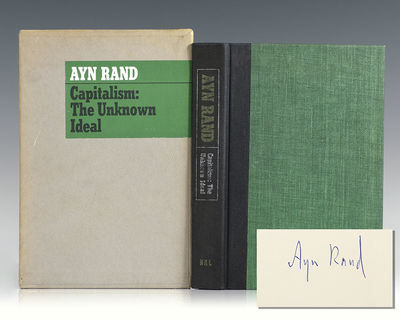 New York: New American Library, 1966. Signed limited first edition of this collection of essays--whi...