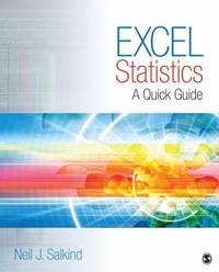 Excel Statistics : A Quick Guide
