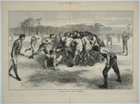 image of A Match at Football - the Last Scrimmage (Soccer)