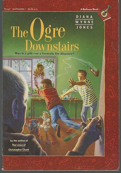 OGRE DOWNSTAIRS, Jones, Diana Wynne