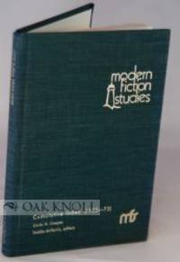 West Lafayette, Indiana: Modern Fiction Studies, 1975. cloth. 8vo. cloth. 136 pages. Index to the fi...
