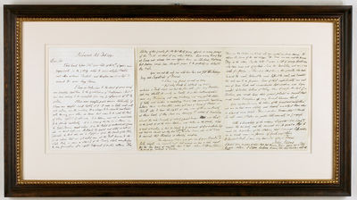A revealing letter to fellow Declaration of Independence signer Benjamin Rush, arguing for a strong ...