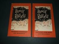 image of Rowdy Rhymes and Bibulous Ballads Gathered from Many Gay Minstrels