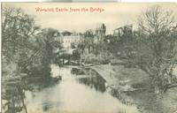 Warwick Castle from the Bridge, early 1900s unused Postcard