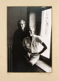 [Portrait Photograph of Andy Warhol & Parker Tyler]