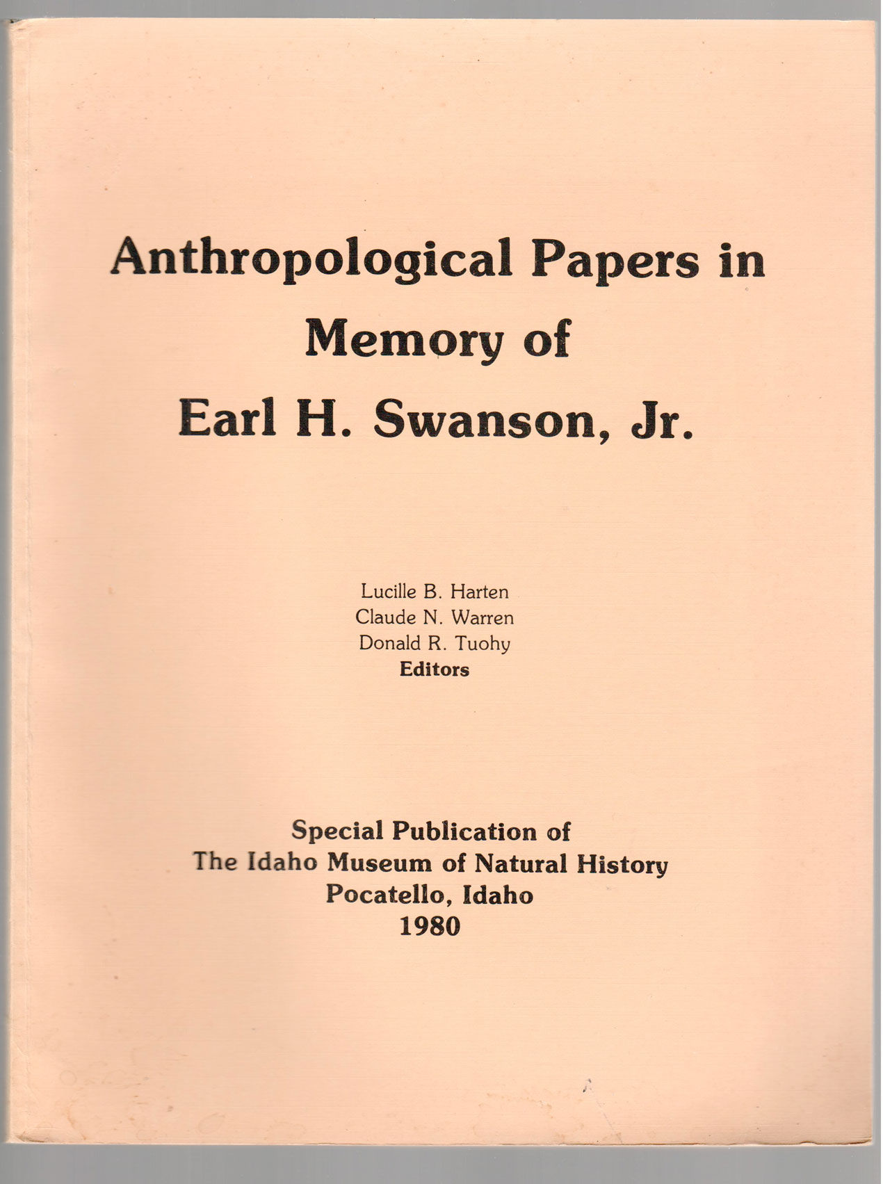 anthropological papers Anthropology this research paper anthropology and other 63,000+ term papers, college essay examples and free essays are available now on reviewessayscom.