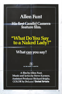 What Do You Say to a Naked Lady (Original poster for the 1970 film)