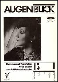Augenblick 15: Cariolen und Vexierbilder: Neue Studien zum NS-Unterhaltungsfilm