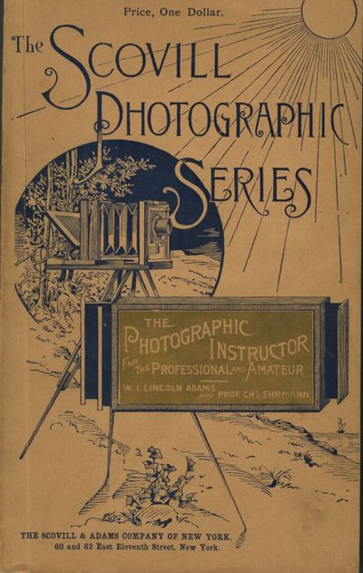 NY: Scovill and Adams, 1897. Sixth edition, eighth thousand. 8vo., 215 pp., illustrations in text. P...