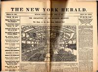 THE NEW YORK HERALD Newspaper; Whole Number 8989: Morning Edition, Monday, April 20, 1861