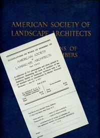 American Society of Landscape Architects: Illustrations of Work of Members