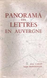 Panorama des Lettres en Auvergne