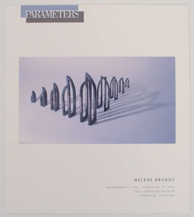 Norfolk, VA: Chrysler Museum, 1994. First edition. Exhibition brochure for a show that ran November ...