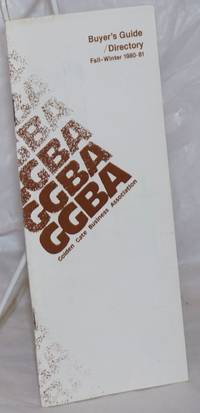 image of GGBA Buyer's guide/directory; Fall-Winter 1980-81